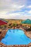 Pływacki basen, Namibia Obrazy Royalty Free