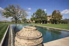 Pływacki basen w polu fotografia royalty free