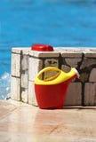 pływackie basen zabawki Fotografia Royalty Free