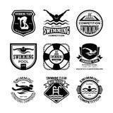 Pływackie Wektorowe ikony 32 ilustracja wektor