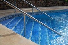Pływackiego basenu kroki Zdjęcie Stock