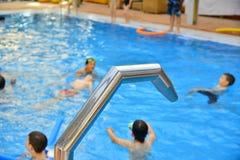 Pływackiego basenu wakacje boisko Zdjęcia Royalty Free
