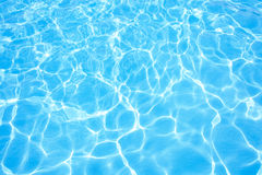 Pływackiego basenu woda Zdjęcie Royalty Free