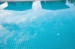 Pływackiego basenu woda Obrazy Royalty Free