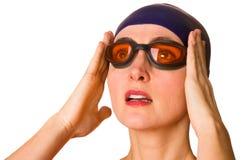 pływaczka Zdjęcia Stock