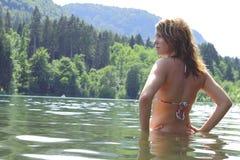 pływaczka Obrazy Stock