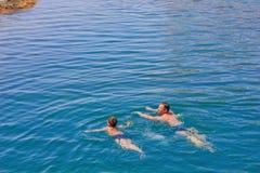 pływaczki fotografia stock