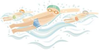 pływaczki Obrazy Stock
