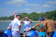 Pływaczki po biegowego kona Zdjęcia Royalty Free