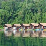 Pływakowy dom Obrazy Royalty Free