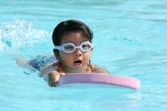 pływanie dziecka Obrazy Stock