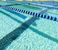 Pływanie pasa ruchu markier Obraz Stock