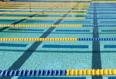 Pływanie pasa ruchu markier Obrazy Stock