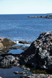 Pływowi baseny w Acadia parku narodowym Zdjęcie Royalty Free