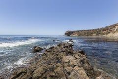 Pływowy basen przy Abalone zatoczki linii brzegowej parkiem w Kalifornia Zdjęcie Royalty Free
