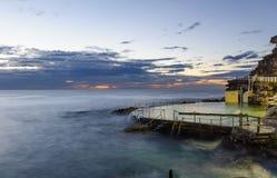 Pływowy rockowy basen Zdjęcia Royalty Free