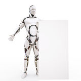 p2 robot Zdjęcia Royalty Free