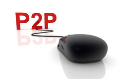 P2P Royalty Free Stock Images