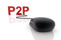 p2p Obrazy Royalty Free