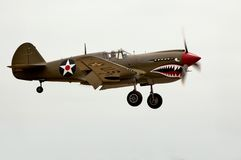 P40 Landing Royalty Free Stock Photography