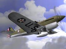 P40 Warhawk Stock Photography