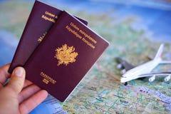 Paß zum zu reisen Lizenzfreies Stockfoto