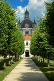 Pažaislis monastery near Kaunas, Lithuania royalty free stock photos