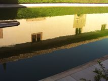 Pałac Generalife, Granada obraz stock