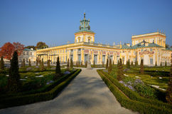 Pa�ac Wilanów / Wilanow Palace Stock Photography