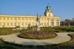 Pa�ac Wilanów / Wilanow Palace Stock Photo