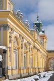 PaÅ '与Wilanow宫殿的ac Wilanà ³ 免版税库存图片