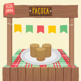 Paçoca - Peanut Candy Stock Photography