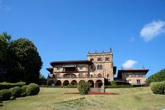 País basque getxo da mansão Foto de Stock Royalty Free
