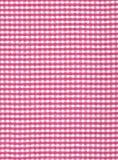 País cor-de-rosa teste padrão verific Imagens de Stock Royalty Free