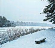 País das maravilhas do inverno Fotografia de Stock Royalty Free