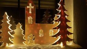 País das maravilhas do inverno foto de stock royalty free