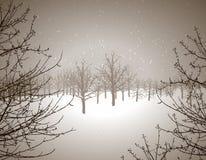País das maravilhas do inverno ilustração do vetor