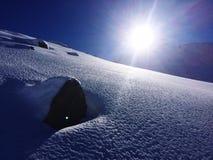 País das maravilhas do inverno Fotografia de Stock