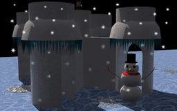 País das maravilhas do inverno Fotos de Stock
