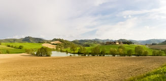 País de Apennines Foto de archivo