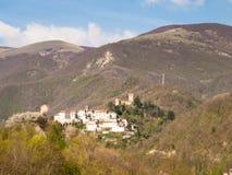País de Apennines Imagen de archivo libre de regalías