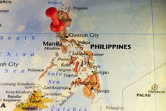 País de Filipinas, isla en Asia Imagen de archivo
