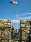 País de Gales en alto foto de archivo libre de regalías
