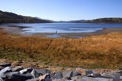 País de Gales - Gwynedd - lago Bala Imagenes de archivo