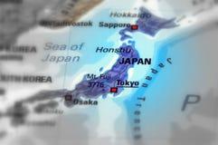 País de Japón imagen de archivo libre de regalías