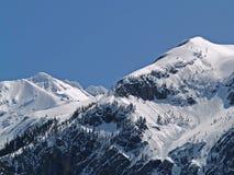 País de la avalancha Foto de archivo libre de regalías
