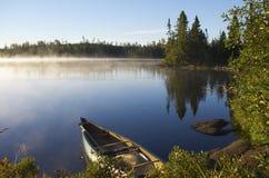 País de la canoa Fotos de archivo libres de regalías