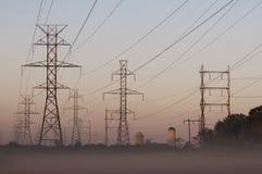 País de la torre de potencia Foto de archivo libre de regalías