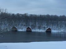 País de las maravillas del invierno Foto de archivo