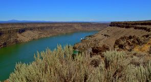 País del barranco de Oregon Fotos de archivo